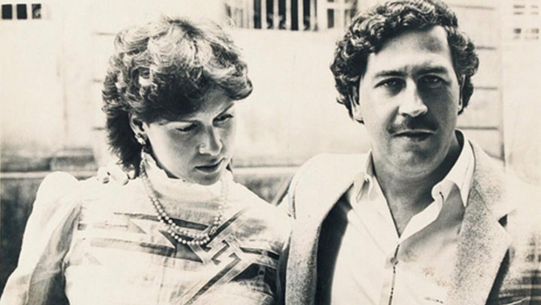 Pablo Escobar y su esposa Victoria Eugenia Henao Vallejo 'Tata'
