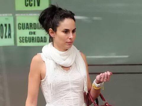 Un paparazzi captó el momento en el que Ana Serradilla paseaba a...