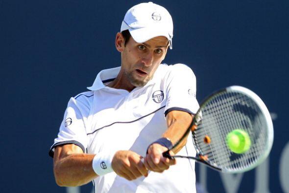 Novak Djokovic, primer lugar de la ATP, debutó con una victoria en el US...