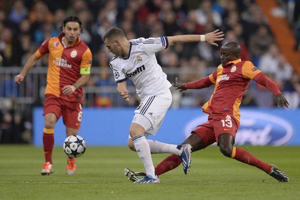 El Real Madrid salió presionando desde el primer minuto.