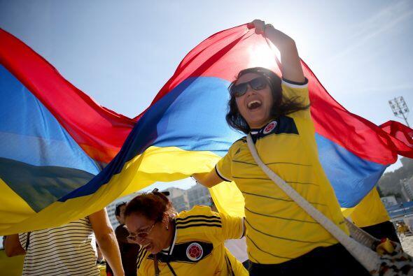 Colombia ganó desde lo anímico con el apoyo del público en el estadio Mi...