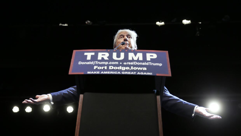 Donald Trump, precandidato presidencial republicano