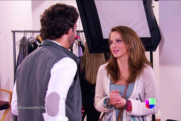 Prepárate Ana, Diego te convertirá en una súper modelo.