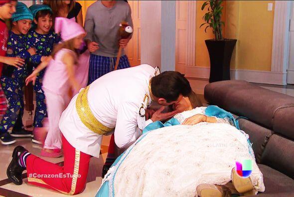 ¡Bravo Fernando! Ahora sí el amor de Ana será para ti solito.