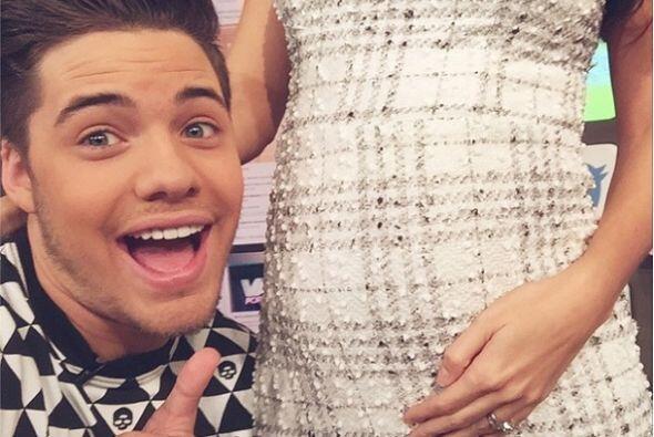 """""""Selfie con el bebe de @anapatriciatv"""", compartió Will. (Noviembre 17, 2..."""