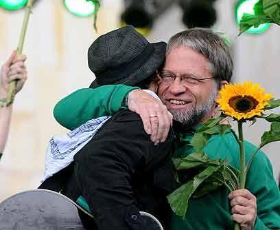 Antanas MockusCandidato independiente por el Partido Verde, este polític...