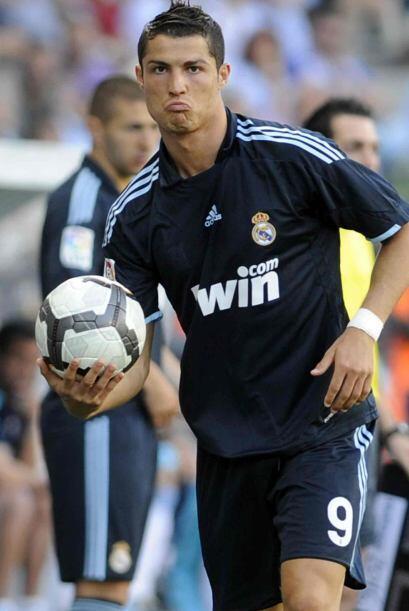 Cristiano Ronaldo no tuvo su mejor partido y no se veía cuando marcara e...