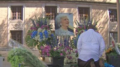 Houston rinde emotivo homenaje a la vida de Barbara Bush