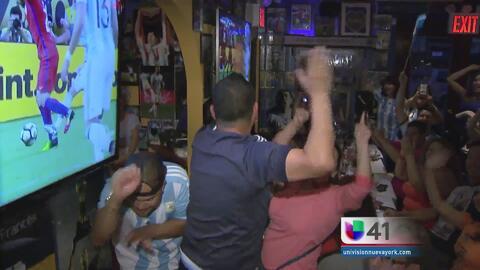 Viven con pasión y desencanto final de Copa América