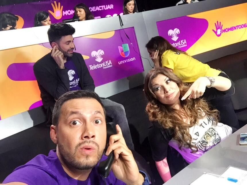 Luis Sandoval en Teletón USA 2015