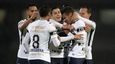 En fotos: Pumas se impone 3-0 contra Juárez y se pone de líder en la Copa MX