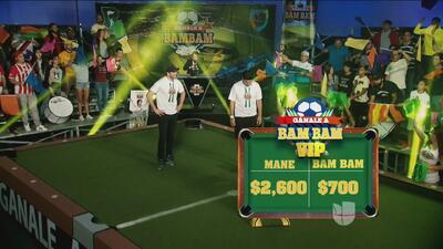 Gánala a Bam-Bam: Mane de la Parra venció a Zamorano y aportó 2.600 dólares a la causa benéfica