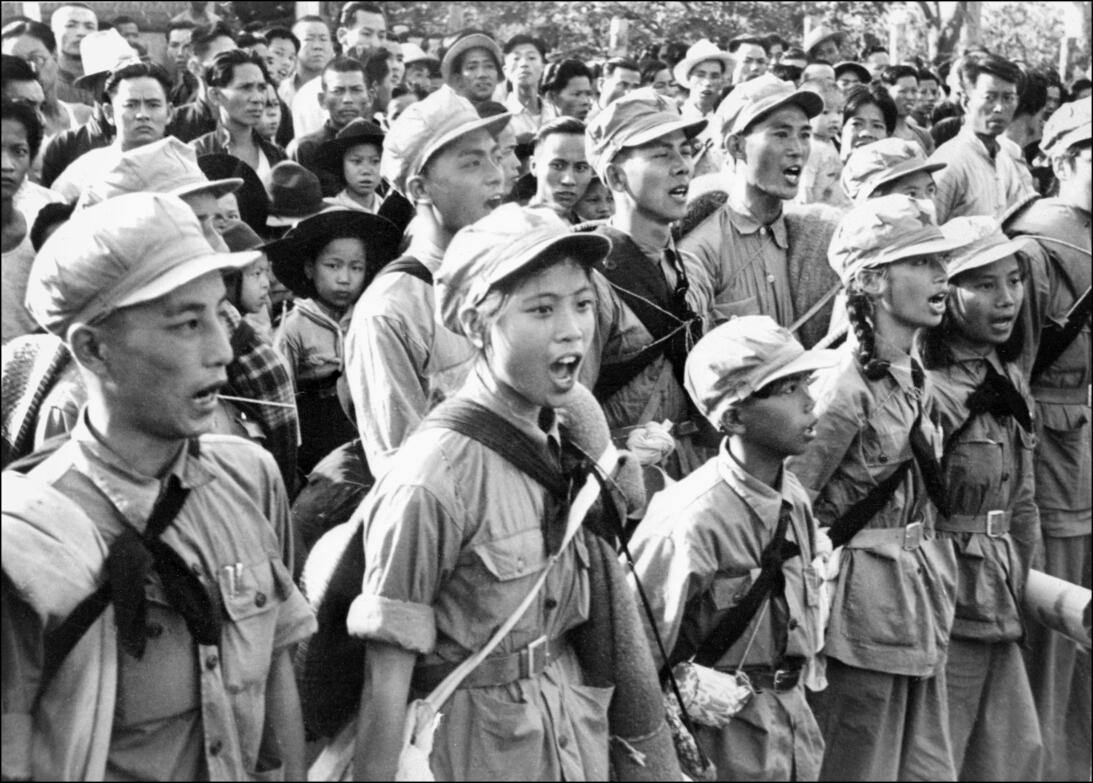 Triunfo de la revolución China