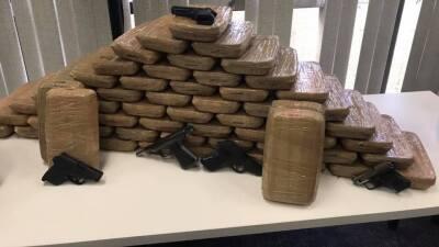 Arrestan a 15 operadores del cartel de Sinaloa y les decomisan droga valorada en $10 millones en Los Ángeles