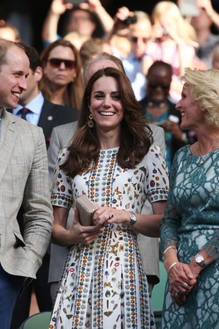 Los 50 mejores vestidos que usó Kate Middleton en 2016 GettyImages-54586...