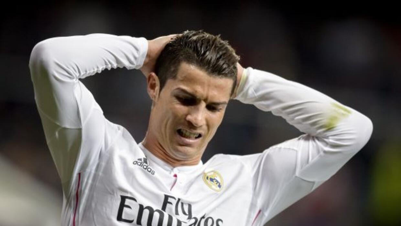 El portugués mostró su molestía tras el resulatado del Real Madrid.