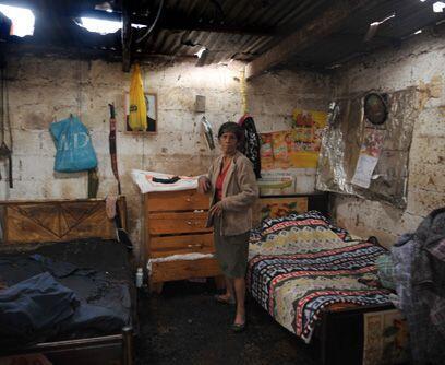 Contando estrellas. Los daños en las casas pobres de Ciudad de Gu...