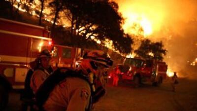 California es uno de los estados que ha sufrido por los incendios en EEUU.