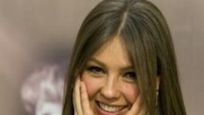 """Thalía publicó en su sitio personal que el amor de Tommy Mottola """"la hac..."""