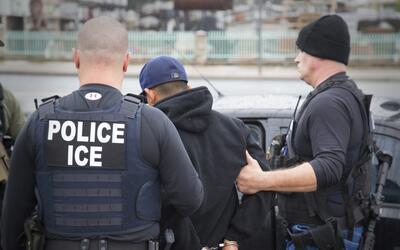 Operativo de inmigración realizado en febrero de 2017 en Los &Aac...