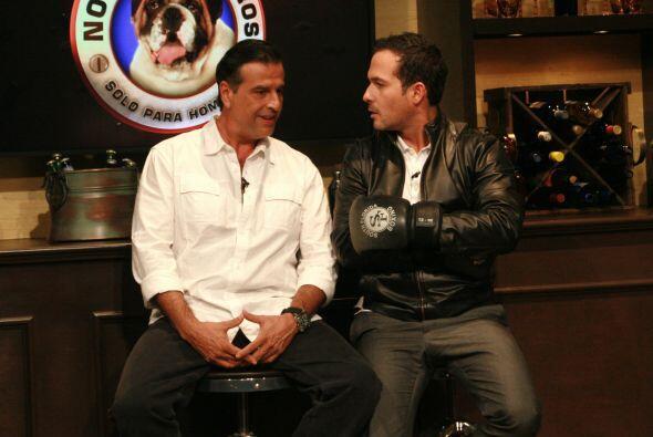 Pirru habló de perro a perro con Carlos Calderón.