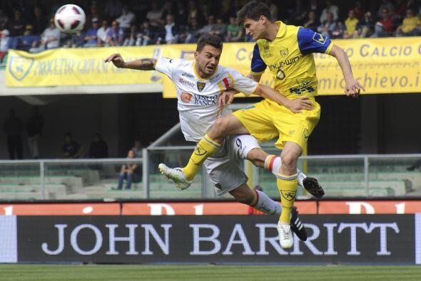 Chievo y Lecce se enfrentaron en Verona, donde los primeros son locales.