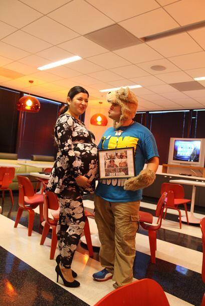 Jojo se encontro con Kim Kardashian en la estacion de Univision Radio Ho...