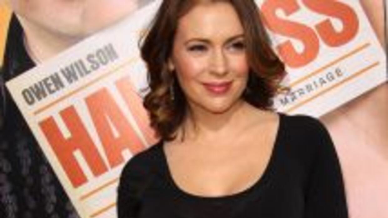 Alyssa Milano está embarazada