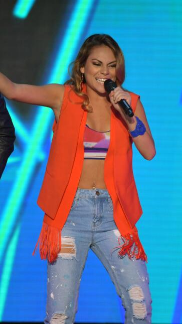 Megamy hace su fashion statement en La Banda| La Banda  mega show 8.jpg