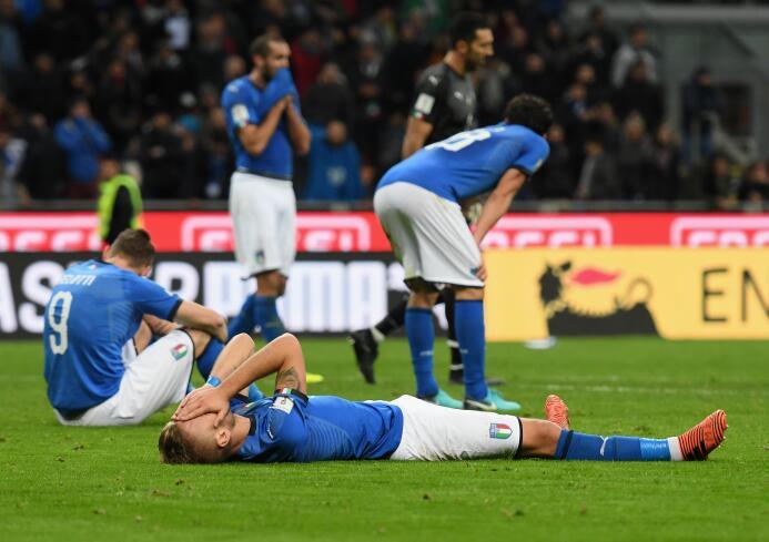 14. Italia (UEFA) - 1,052 puntos