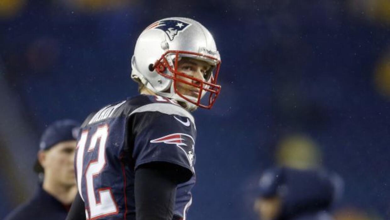 Tom Brady no participó en el primer entrenamiento de cara a los Broncos...