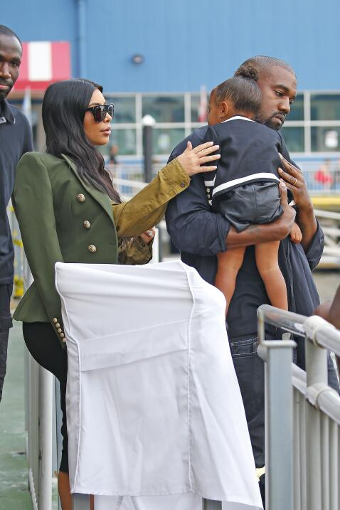 Kim, Kanye y Nori