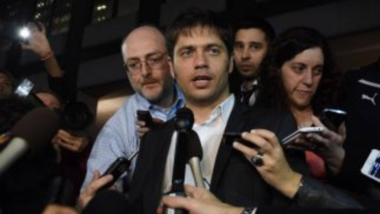Axel Kicillof, ministro argentino de Economía.