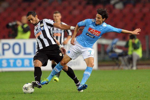 Udinese llegaba como líder del campeonato, pero esa condición no le sirvió.