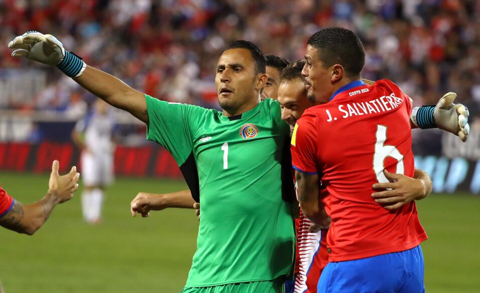 Grupo E. Keylor Navas (Costa Rica) - el portero del Real Madrid no se ha...