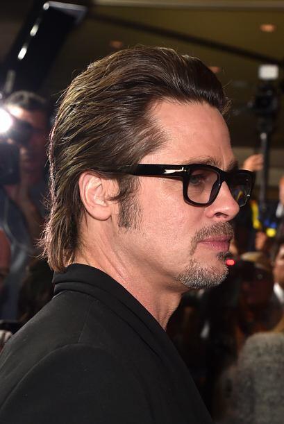 El sexy de Brad Pitt prefiere la barba de candado y dejar sus patillas m...