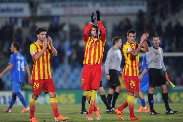 Triunfo valioso con el que Barcelona aseguró acabar el 2013 como líder d...