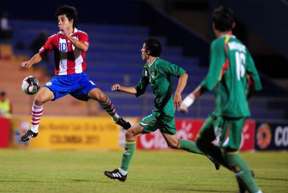 En tanto Paraguay y Brasil jugaron un movido encuentro que ganó e...