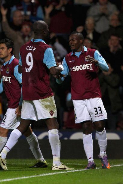 Con el 3-1 final, el West Ham avanzó a la siguiente fase, junto al Arsen...