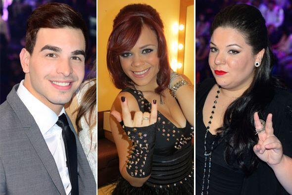 Durante la segunda gala, los finalistas puertorriqueños tambi&eac...