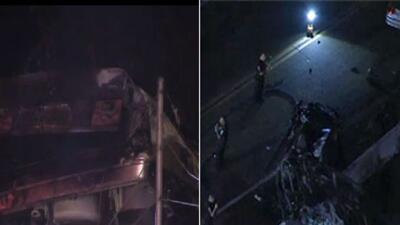 Dos accidentes cobraron la vida de 9 jóvenes en menos de 48 horas en Cal...