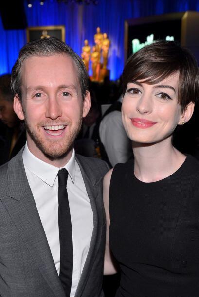 Anne Hathaway y Adam Shulman Después de cuatro años de relación, la gana...