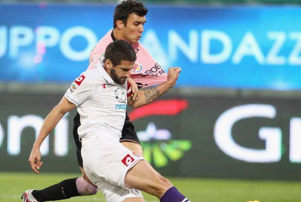 Otro duelo de esta jornada fue el de Palermo contra la Fiorentina.