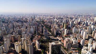 São Paulo, en Brasil, es la ciudad más poblada de todo el hemisferio sur...