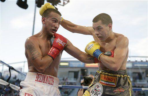 Figueroa hizo la primera defensa exitosa de su cinturón, pero no fue fác...