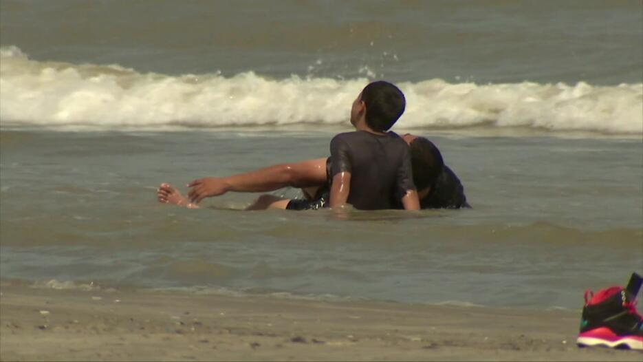 Las playas de Galveston, uno de los destinos favoritos en el puente fest...