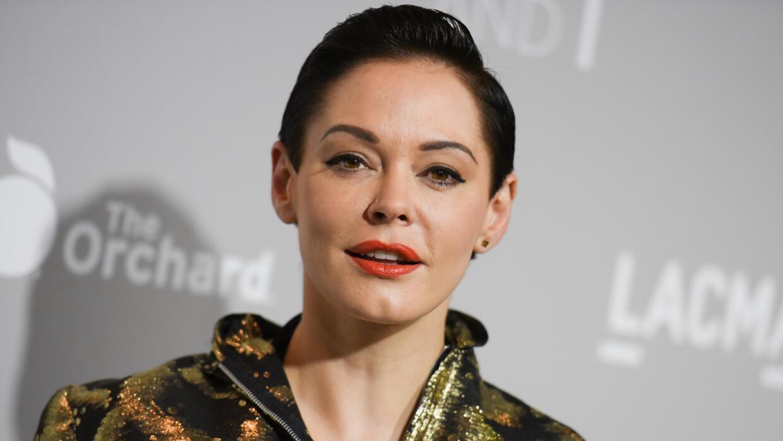 Rose McGowan, una de las actrices que ha denunciado ser víctima de acoso...