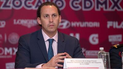 Horacio de la Vega, director del Instituto del Deporte de la CDMX.