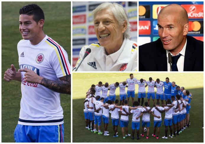 Colombia, el refugio de un James olvidado por el Real Madrid James Colom...