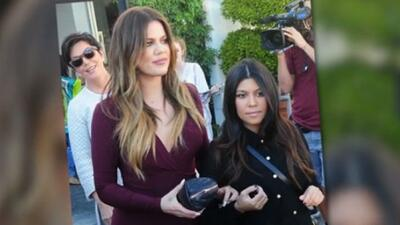 Kourtney Kardashian disfruta de un día de chicas junto a su mamá